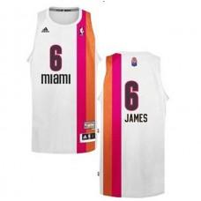 LeBron James Miami Heat Floridians Swingman Jersey