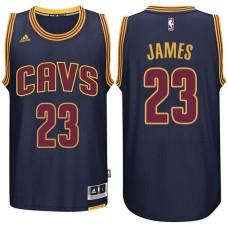 Cleveland Cavaliers #23 Lebron James New Swingman Navy Jersey