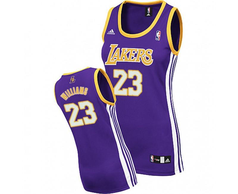 Women's Lou Williams Los Angeles Lakers #23 Purple Jersey