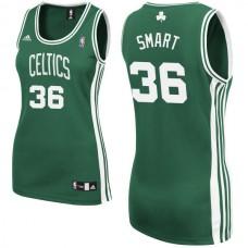 Women's Marcus Smart Boston Celtics #36 Green Jersey