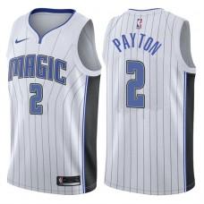 2017-18 Season Elfrid Payton Orlando Magic #2 Association White Swingman Jersey