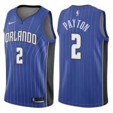 2017-18 Season Elfrid Payton Orlando Magic #2 Icon Blue Swingman Jersey