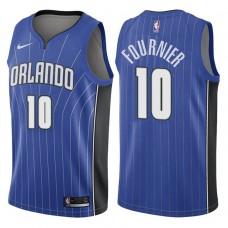 2017-18 Season Evan Fournier Orlando Magic #10 Icon Blue Swingman Jersey