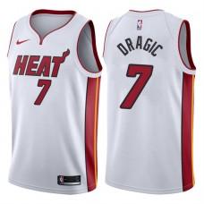 2017-18 Season Goran Dragic Miami Heat #7 Association White Swingman Jersey