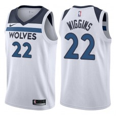 2017-18 Season Andrew Wiggins Minnesota Timberwolves #22 Association White Swingman Jersey