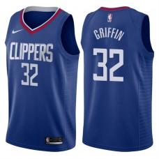 2017-18 Season Blake Griffin Los Angeles Clippers #32 Icon Blue Swingman Jersey