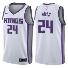 2017-18 Season Buddy Hield Sacramento Kings #24 Association White Swingman Jersey
