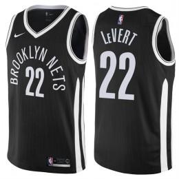Brooklyn Nets Caris LeVert Statement Black Swingman Jersey