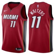 2017-18 Season Dion Waiters Miami Heat #11 Statement Red Swingman Jersey