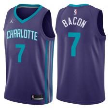 2017-18 Season Dwayne Bacon Charlotte Hornets #7 Statement Purple Swingman Jersey