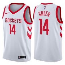 2017-18 Season Gerald Green Houston Rockets #14 Association White Swingman Jersey