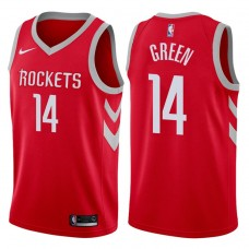 2017-18 Season Gerald Green Houston Rockets #14 Icon Red Swingman Jersey