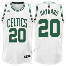 Gordon Hayward Boston Celtics #20 Road Green Black New Swingman Jersey