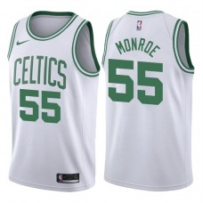 2017-18 Season Greg Monroe Boston Celtics #55 Association White Swingman Jersey