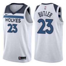 2017-18 Season Jimmy Butler Minnesota Timberwolves #23 Association White Swingman Jersey