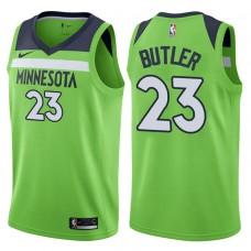2017-18 Season Jimmy Butler Minnesota Timberwolves #23 Statement Green Swingman Jersey