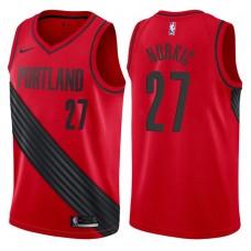 2017-18 Season Jusuf Nurkic Portland Trail Blazers #27 Statement Red Swingman Jersey