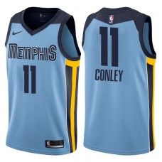 2017-18 Season Mike Conley Memphis Grizzlies #11 Statement Blue Swingman Jersey