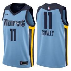2017-18 Season Mike Conley Memphis Grizzlies #11 Icon Blue Swingman Jersey