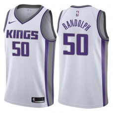 2017-18 Season Zach Randolph Sacramento Kings #50 Association White Swingman Jersey