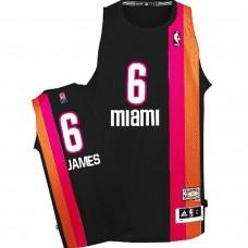 LeBron James Miami Floridians ABA Hardwood Classics Throwback Black Jersey