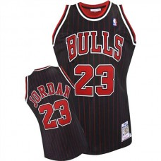Michael Jordan Chicago Bulls #23 1995-1996 Black Jersey