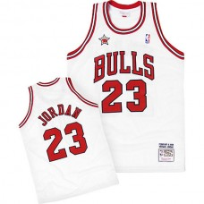 Michael Jordan Mitchell & Ness Chicago Bulls 1998 All-Star White Jersey