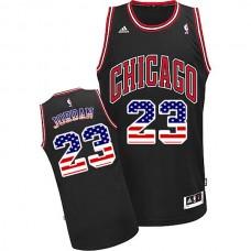 Michael Jordan Chicago Bulls #23 American flag Special Editon Jersey