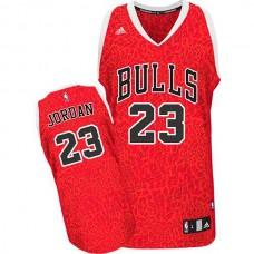 Michael Jordan Chicago Bulls #23 Crazy Light Leopard Swingman Jersey