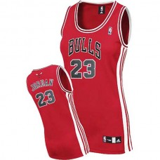 Women's Michael Jordan Chicago bulls #23 Swingman Womens Red Jersey
