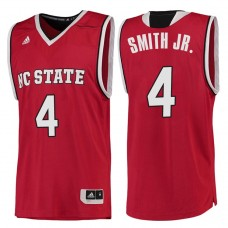 Dennis Smith Jr. 2017 NCAA NC State Wolfpack #4 Red Basketball Jersey
