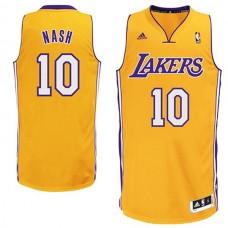 Steve Nash Los Angeles Lakers #10 Swingman Hollywood Nights Black ...