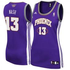 Women's Steve Nash Phoenix Suns Purple Jersey