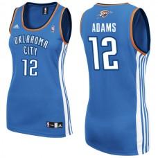 Women's Steven Adams Oklahoma City Thunder #12 Blue Jersey