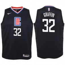 Youth 2017-18 Season Blake Griffin Los Angeles Clippers #32 Statement Black Swingman Jersey
