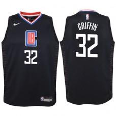 Youth 2017-18 Season Blake Griffin Los Angeles Clippers #32 Statement Black Swingman Jersey