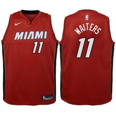 Youth 2017-18 Season Dion Waiters Miami Heat #11 Statement Red Swingman Jersey
