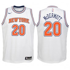 Youth 2017-18 Season Doug McDermott New York Knicks #20 Statement White Swingman Jersey