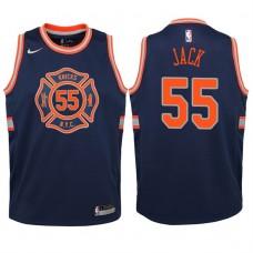 Youth 2017-18 Season Jarrett Jack New York Knicks #55 City Edition Navy Swingman Jersey