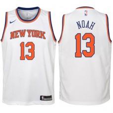 Youth 2017-18 Season Joakim Noah New York Knicks #13 Association White Swingman Jersey