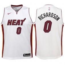 Kids 2017-18 Season James Johnson Miami Heat #16 Association White ...