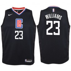 Youth 2017-18 Season Lou Williams Los Angeles Clippers #23 Statement Black Swingman Jersey