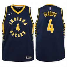 Youth 2017-18 Season Victor Oladipo Indiana Pacers #4 Icon Navy Swingman Jersey