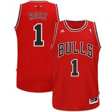 Youth Derrick Rose Chicago Bulls #1 Revolution 30 Swingman Red Jersey