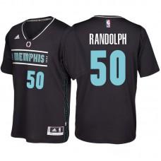Zach Randolph Memphis Grizzlies #50 Black MLK50 Pride Sleeved Swingman Jersey