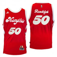 Zach Randolph Memphis Grizzlies #50 2016-17 Hardwood Classics Nights Red Jersey